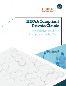 image of HIPAA Compliant Private Clouds Whitepaper from LightEdge