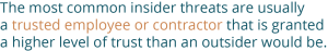 quote about insider threats